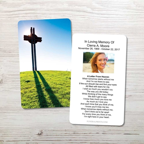 Picture of Celtic Cross Hill Memorial Card