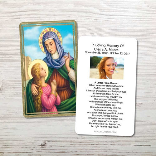 Picture of St. Anne Memorial Card